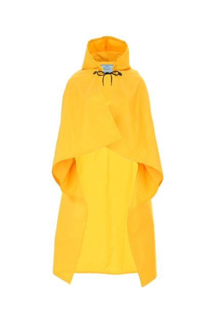 Yellow Re-Nylon cape