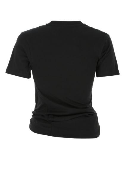 Black cotton City t-shirt