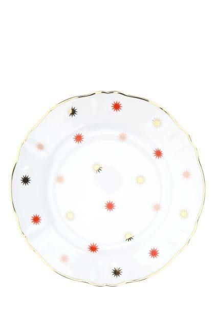 Printed porcelain Volta plate