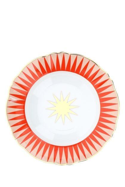 Printed porcelain Baleno soup plate