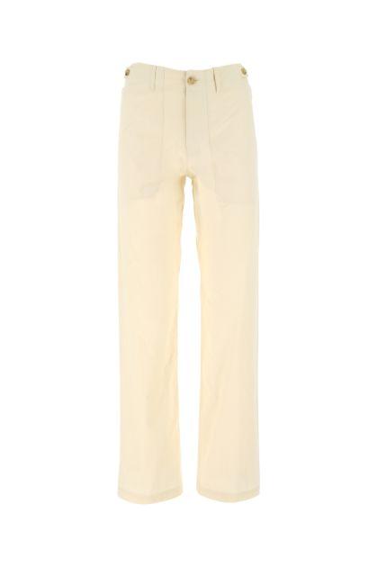 Cream cotton pant