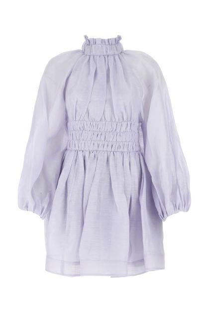 Lilac linen blend Luminous dress
