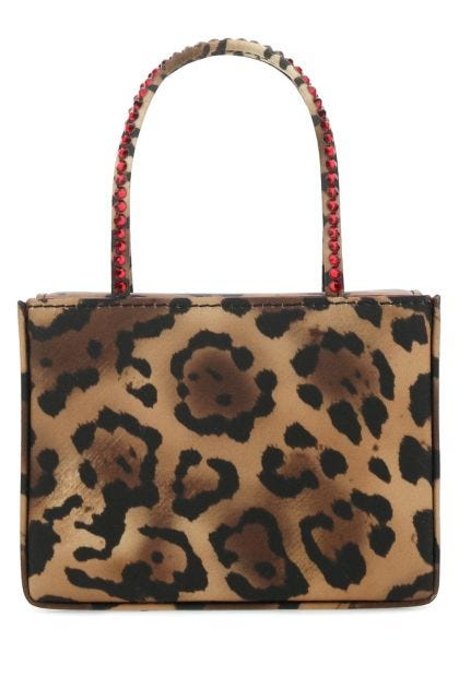 Printed fabric Super Amini Gilda Crystal handbag