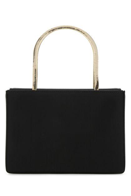 Black satin Amini Henson handbag