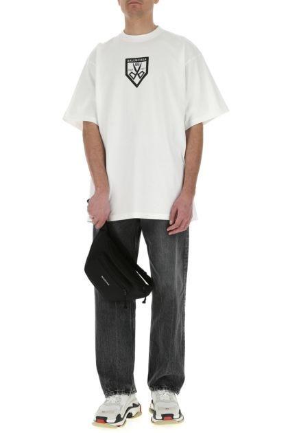 Black nylon Explorer belt bag