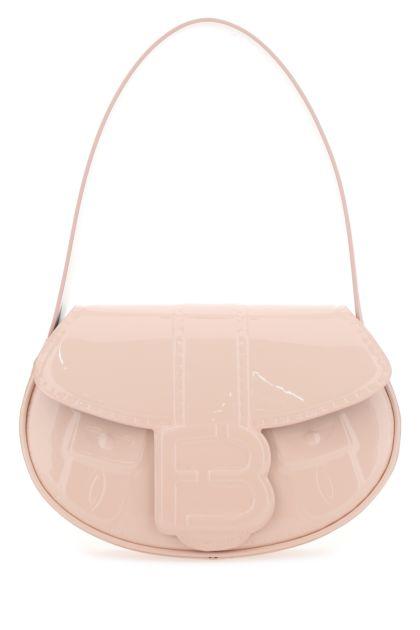 Pastel pink leather My Boo handbag