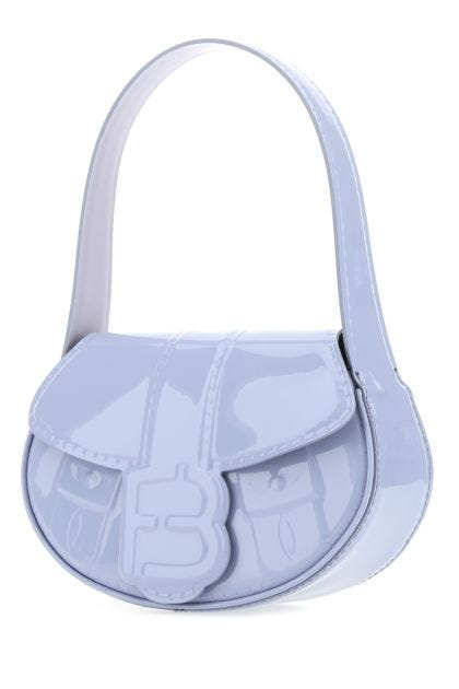 Lilac leather My Boo shoulder bag