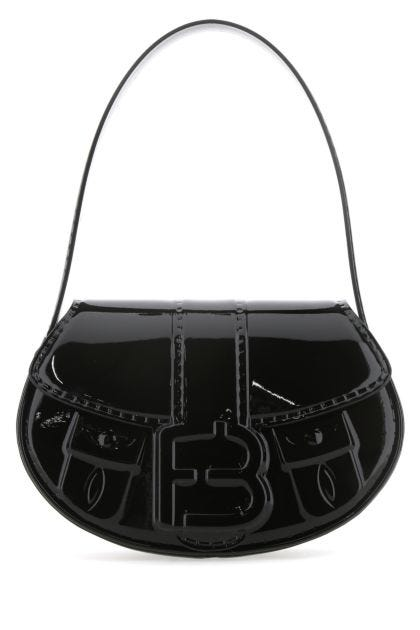 Black leather My Boo handbag