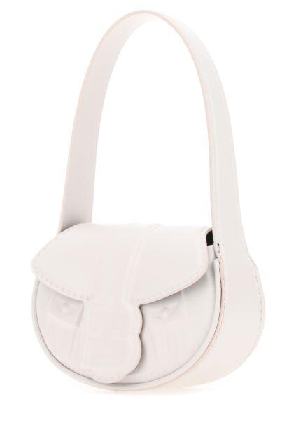 White leather My Boo handbag