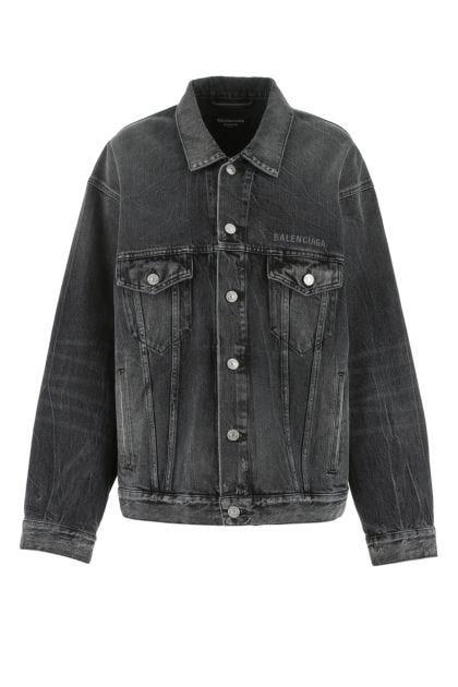 Dark grey denim jacket