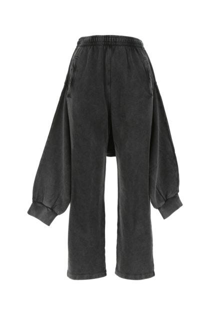 Charcoal cotton joggers