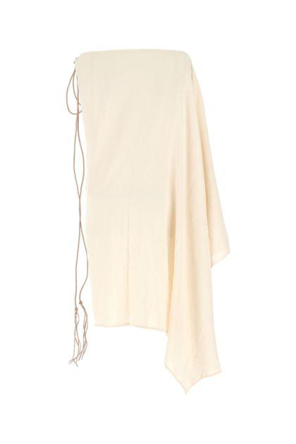 Ivory cotton dress