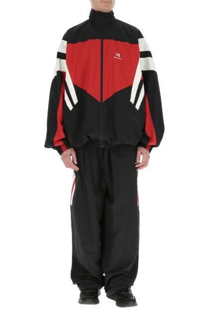 Multicolor nylon jacket
