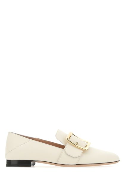 Ivory leather Janelle laofers