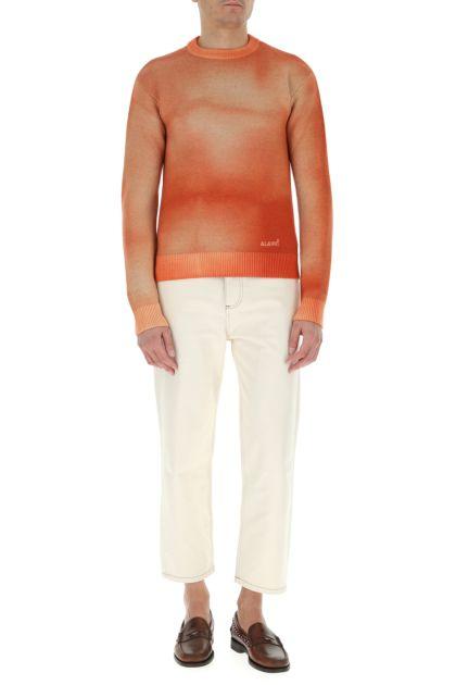 Orange wool Dusty Road sweater