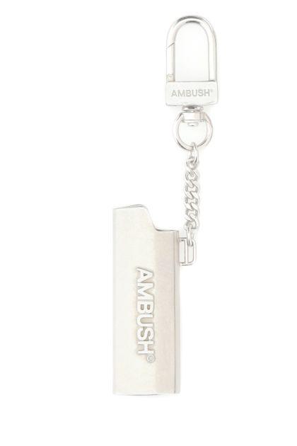 Silver metal key ring