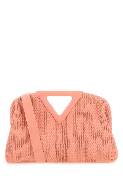 Pastel pink nappa leather Point handbag