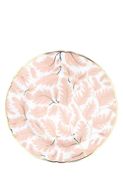 Printed porcelain dessert plate