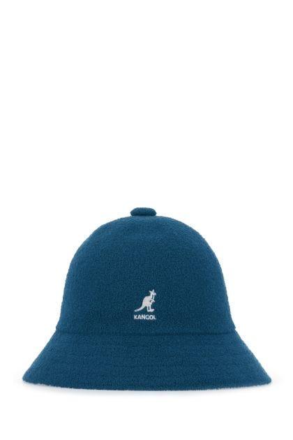 Teal fabric Bermuda Casual hat