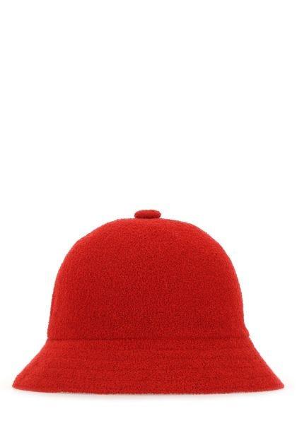 Red fabric Bermuda Casual hat