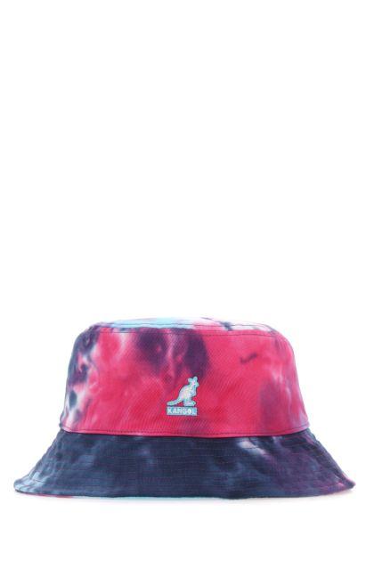 Multicolor cotton Tie Dye hat