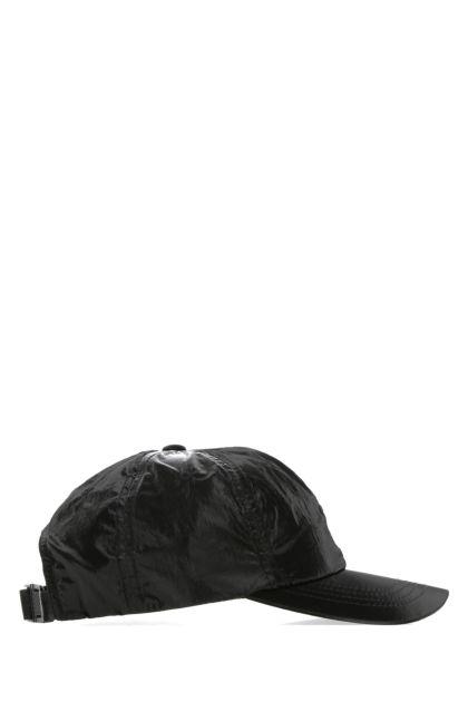 Black nylon Iridescent baseball cap