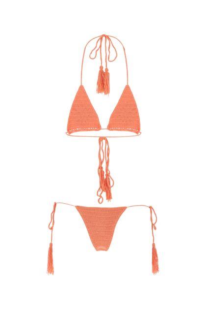 Salmon stretch microfiber Ketuk bikini