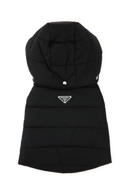 Black re-nylon dog padded jacket