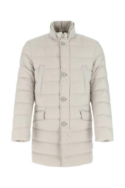 Ivory nylon Il Cappotto down jacket