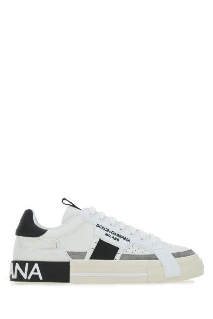 Multicolor leather and rubber Custom 2.Zero sneakers