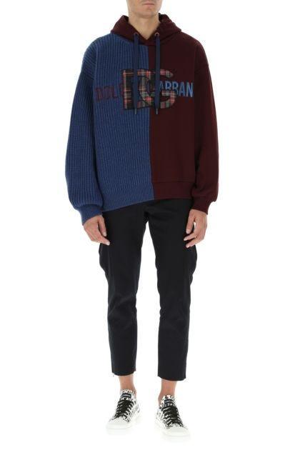 Multicolor wool blend sweatshirt