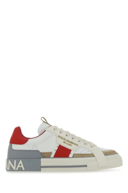 Multicolor leather Custom 2.Zero sneakers