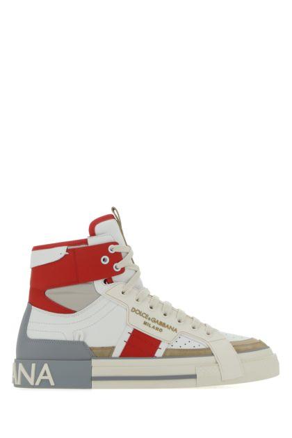 Multicolor leatehr Custom 2.Zero sneakers