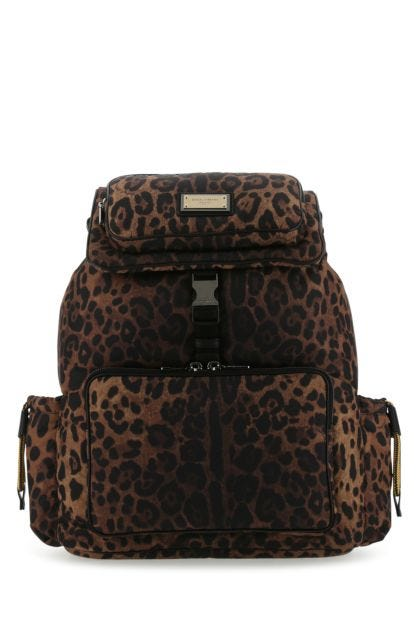 Printed polyester Sicily backpack