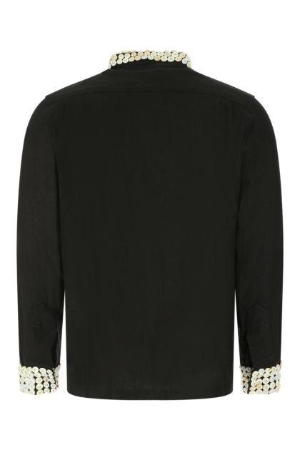Black lined Good Luck shirt