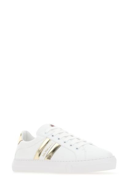 White leather Ariel sneakers