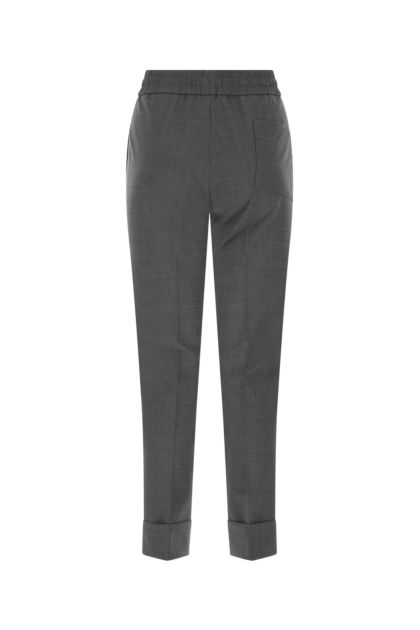 Graphite stretch polyester blend pant