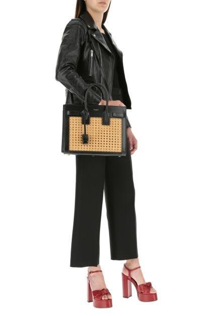 Two-tone small Sac De Jour handbag