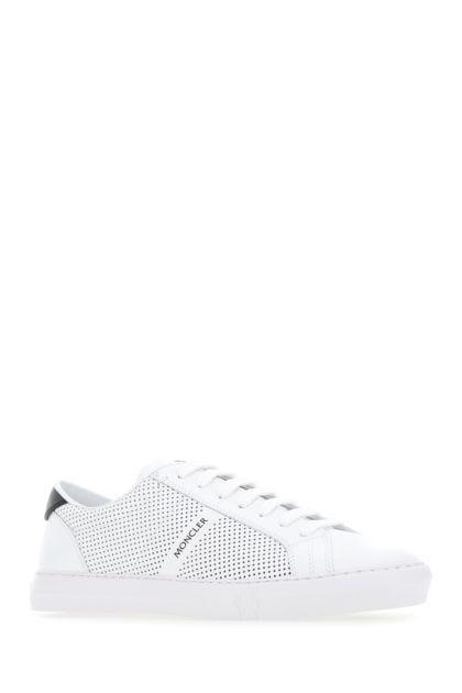 White leather New Monaco sneakers