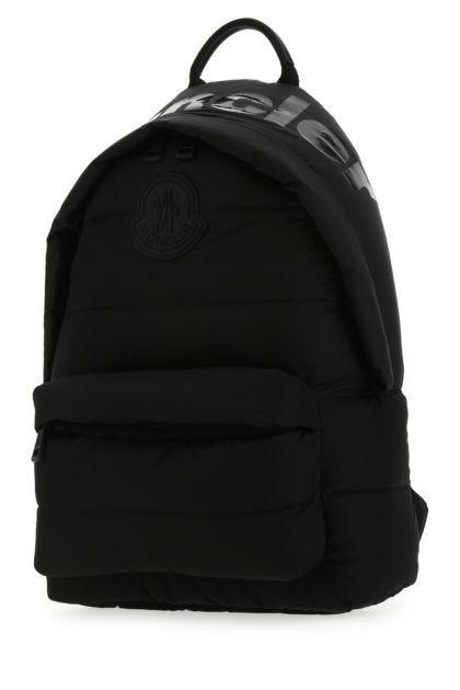 Black nylon Legere padded backpack