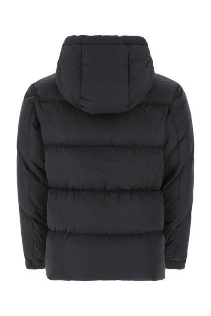 Black polyester Idil down jacket