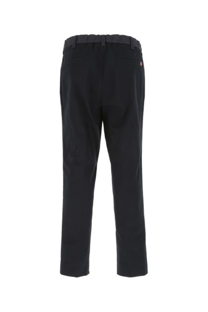 Dark blue stretch cotton pant