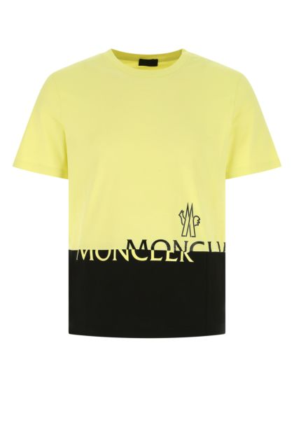 Two-tone cotton oversize t-shirt