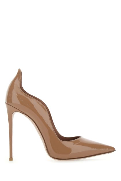 Biscuit leather Ivy pumps