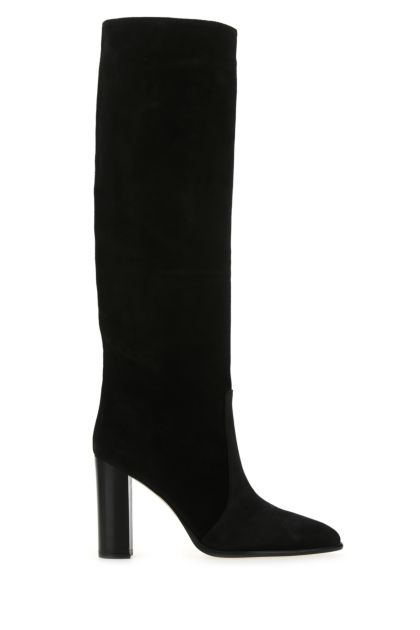 Black suede Sienna boots