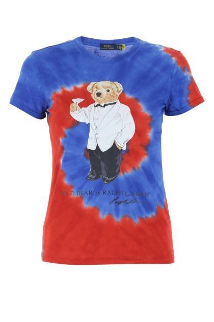 Multicolor cotton t-shirt