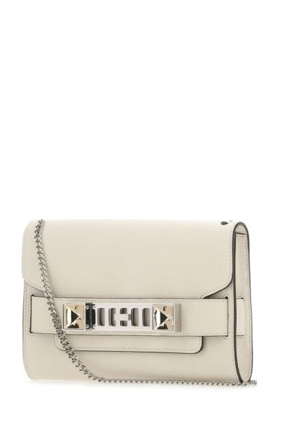 Chalk leather PS11 clutch