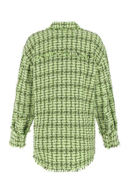 Multicolor tweed shirt