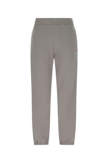 Grey cotton joggers