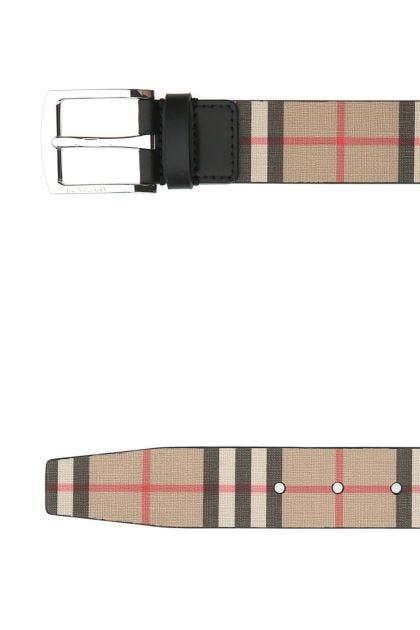 Printed e-canvas belt